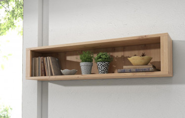 Wandplank Melody - EIken - 130 cm