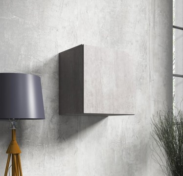 Wandkast Vayana - Beton - 50 cm - ACTIE