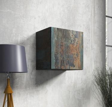 Wandkast Vayana - Canyon painted metaal - 50 cm - ACTIE