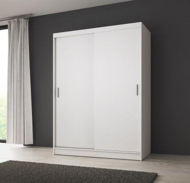 Kledingkast Winne - Wit - 150 cm